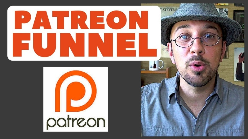 Patreon Funnel For Patron Acquisition For Musicians Singer Songwriter Kev Rowe