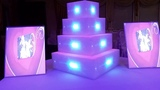 Wedding Cake Projector Mapping Display tutorial