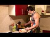 Бургер Арнольда. Рецепт для набора мышечной массы.