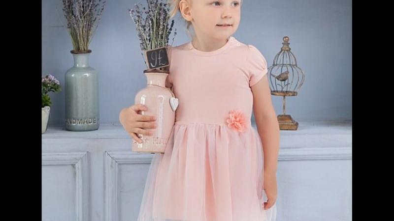 Фотообзор платья персикового цвета