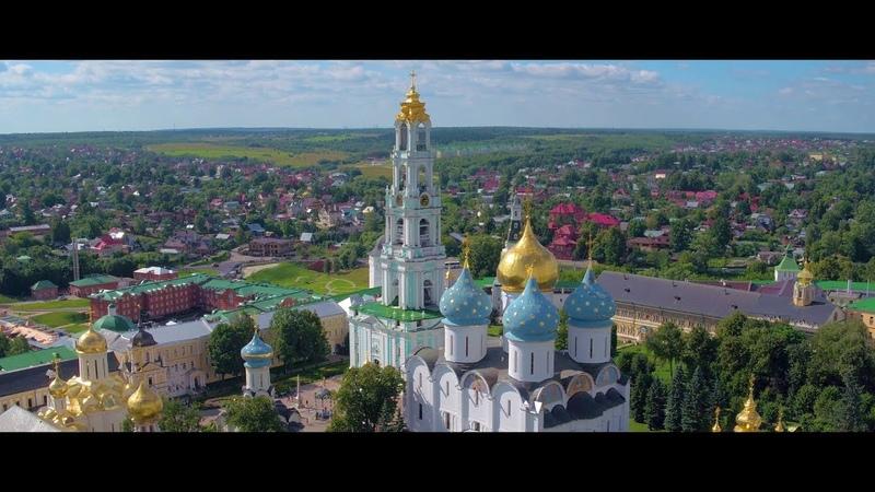 Троице Сергиева Лавра 4K Sergiev Posad DJI Inspire Pro