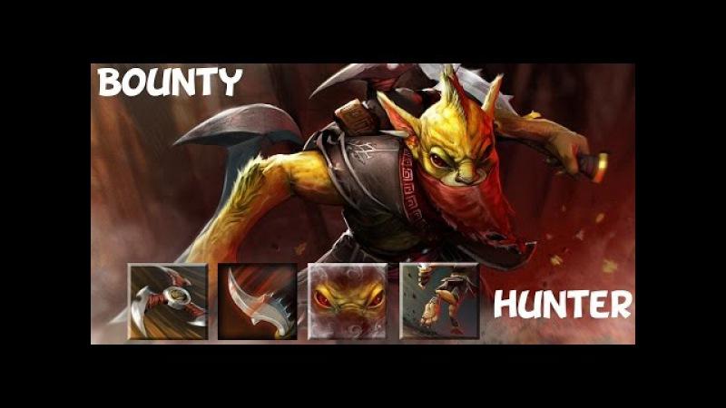 Гайд по герою Bounty Hunter, dota 2 guide бх