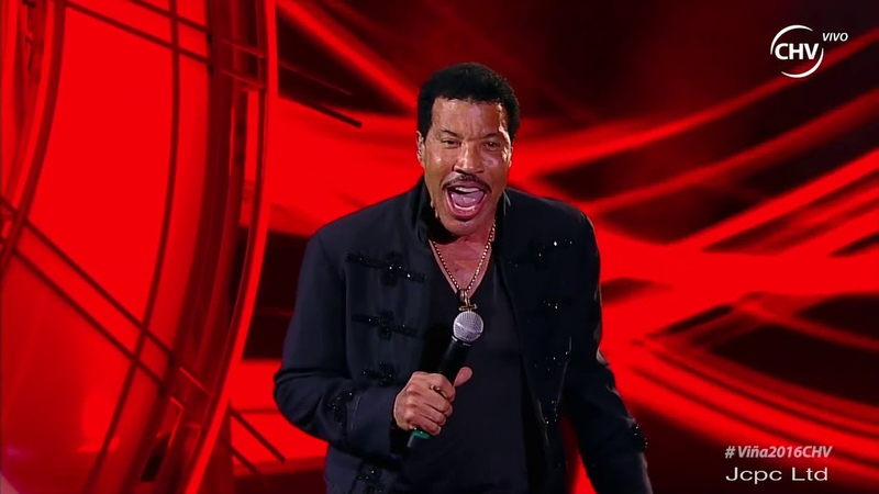 "Lionel Richie Running With The Night"" Live Viña Del Mar Chile 2016 Full HD"