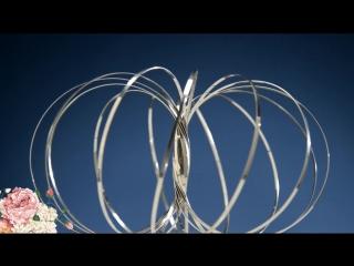 Magical metal torus magic flow rings