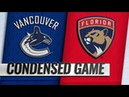 Vancouver Canucks vs Florida Panthers – Oct.13, 2018