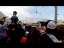 Прибытие поезда победы на вокзал Пенза I