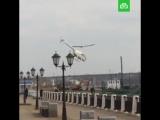 В ресторан — на вертолете