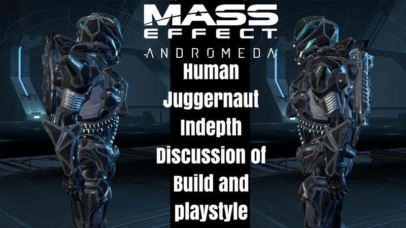 Human Juggernaut Platinum BUILD and GUIDE Mass Effect Andromeda Multiplayer
