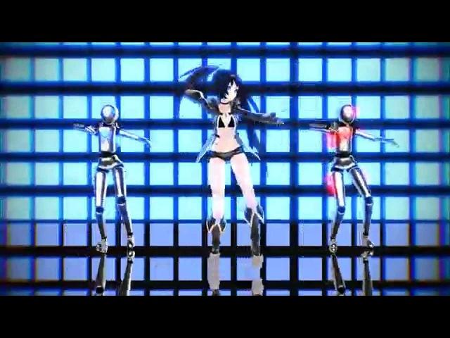 MMD 60FPS Hibikase × ECHO Black Rock Shooter ヒビカセ × ECHO ブラック★ロックシューター