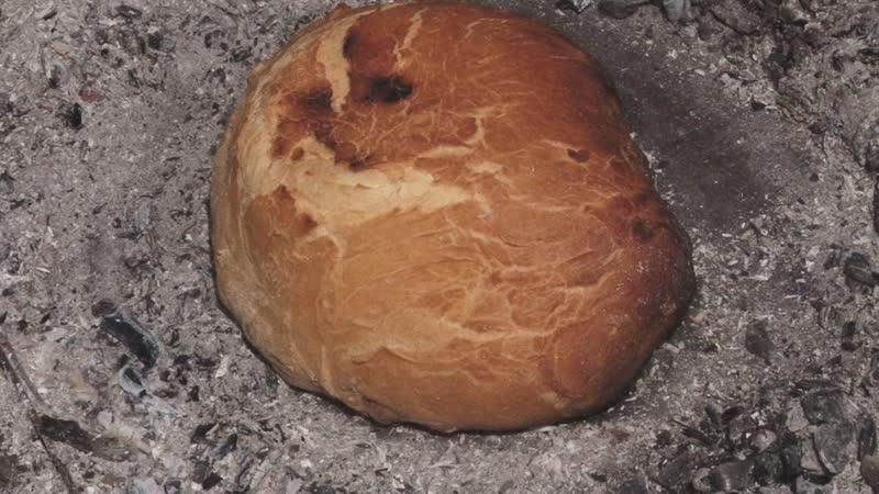 Кумеч как крымские татары пекли хлеб прямо на земле