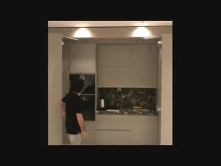 Как Вам идея с закрытой кухней?