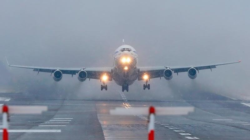 ИЛ-96 Рванул На Второй Круг Аэропорт Внуково (УТП)