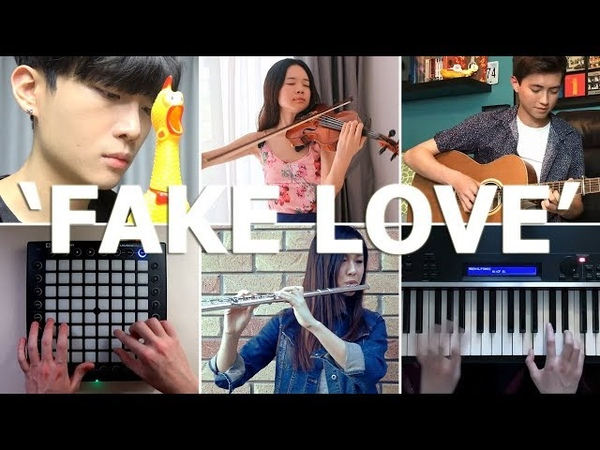 Who Played It Better - Fake Love (Piano, Chicken, Guitar, Launchpad, Flute, Violin)