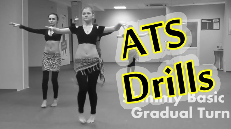 ATS® drills Fast Moves: Arabic Basic, Shimmy Basic, Egyprian Basic, Pivot Bumps \ Just do TRIBAL 08