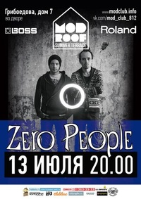 13.07.14 * Zero People * Mod Roof * Санкт-Петерб