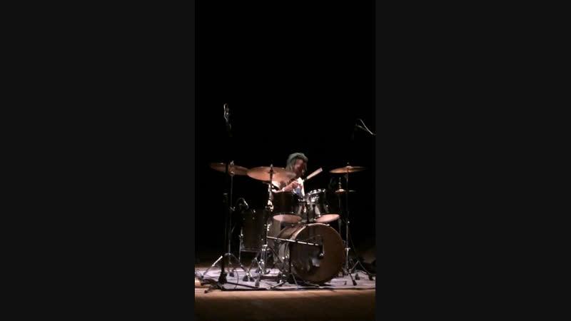 Brass band (соло барабанов)