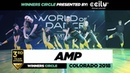 AMP 3rd Place Team Division Winners Circle World of Dance Colorado 2018 WODCO188 Danceprojectfo