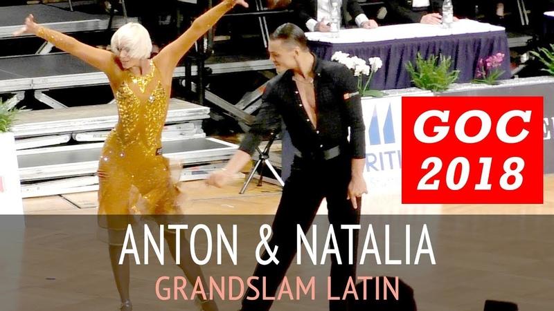 Антон Алдаев Наталья Полухина | Румба | GOC2018 GrandSlam LATIN - 3тур