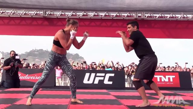 Why Dont You Mess With Ronda Rousey! - Spoilin For A Fight coub