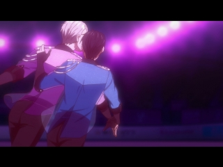 Yuri!!! on Ice 12 episode Victor and Yuri performance BDRemux