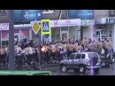 Драка фанатов Динамо и Металлиста в Харькове  15.09.2013 уличная драка