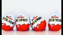 Киндер сюрприз на русском языке Игрушки Видео для детей MrGeor Kinder surprise eggs