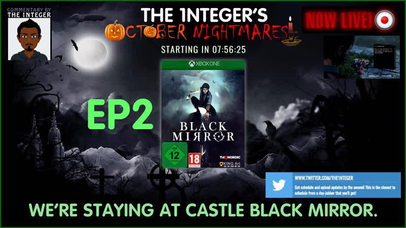 We're spending the night at Black Mirror Castle...wonderful! - EP2 OctoberNightmares Horror LoveCraft