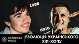 Укранський хп-хоп (реп) еволюця (1995-2018) Украинский рэп (хип-хоп)