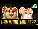 Hammond as a MOUSE - CHEESE BALL - Katsuwatch Overwatch Cats