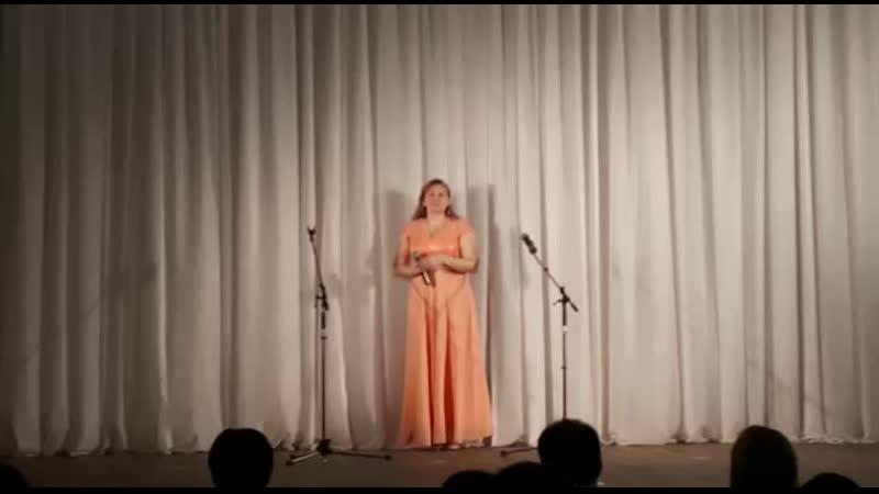 Анна Ахмерова с финальной песней Детская Школа Искусств.mp4