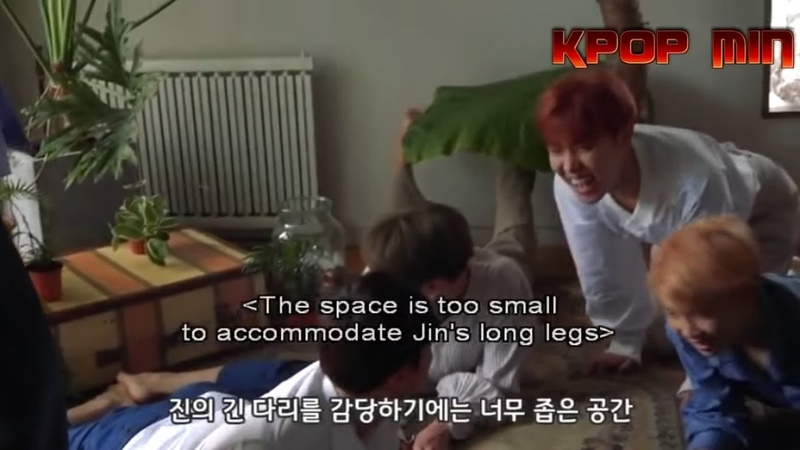 When J-HOPE (호석 BTS) can't stop laughing