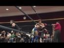 Akiyori Takizawa, Daichi Kazato, Daiki Shimomura vs. Jun Masaoka, Ryu Gouma, SAGAT (BASARA - Osaka Beer Garden Pro-Wrestling)
