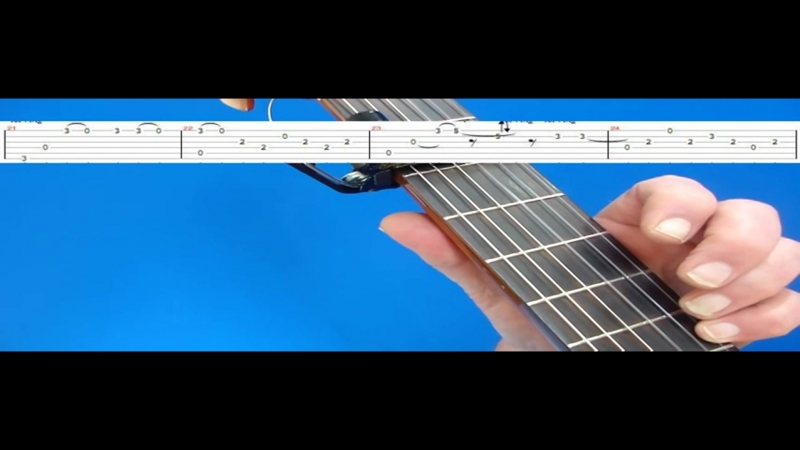 EVERY BREATH YOU TAKE GUITAR LESSON 3 (TAB ON SCREEN)