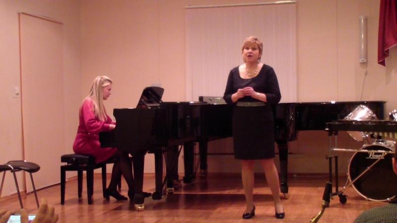 Песня Анюты исп. Юлия Шибанова, концертмейстер Н. Пахомова