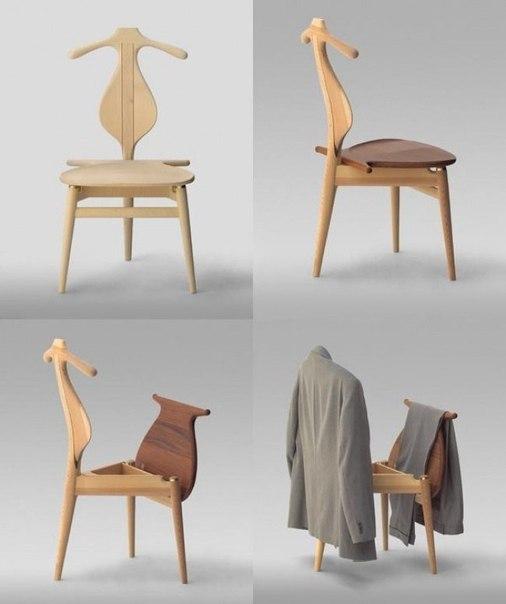 Стул мечты Этот многофункциональный стул придумал дизайнер из Дании Вегнер Ханс.
