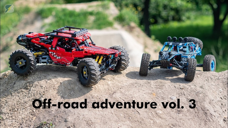 Off-road adventure vol 3. - LEGO Greyhound 4WD RC Buggy JJRC Q39 1/12 4WD RC Buggy