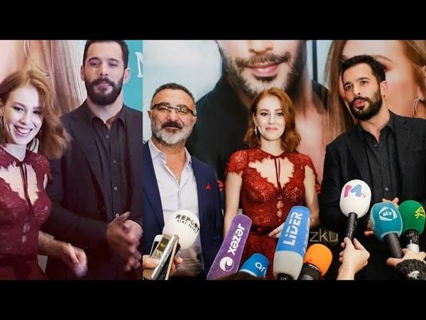 Bari's arduc Elçin sangu looks so perfect together before the Media Fanz.....