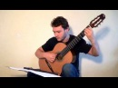 Radiohead - High and Dry (fingerstyle cover) Artiom Haluza