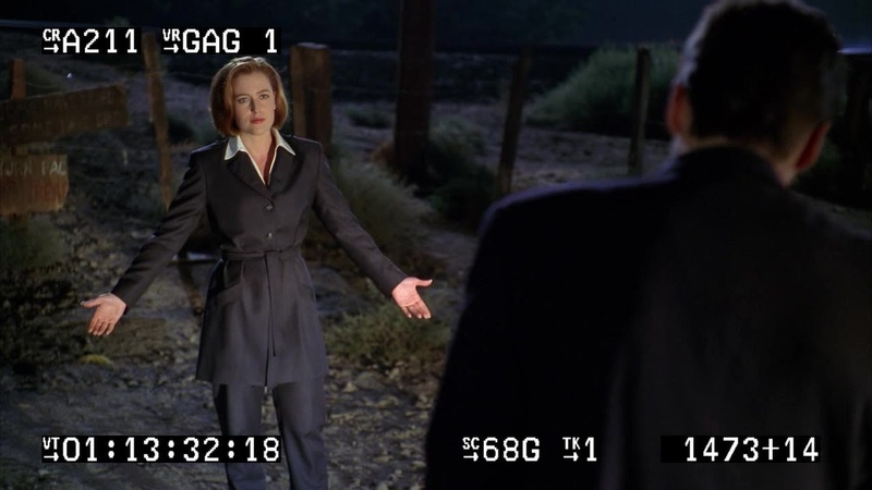 The X-Files: Fight the Future (Gag Reel)