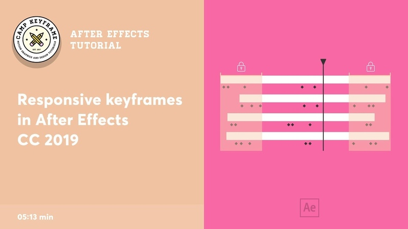 Responsive Keyframes in After Effects CC2019