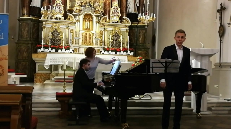 Handel, Aria di Ruggiero _Sta nellircana_ - Vadim Volkov, countertenor - Sergei Konstantinov, pf
