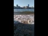 Остров Молокова, волна. Амурские волны