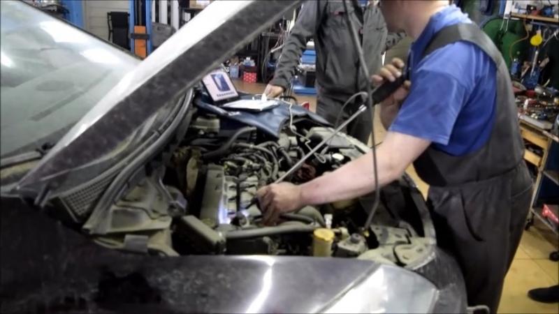 Mazda CX-7 диагностика,пневмотест,эндоскопия ЦПГ