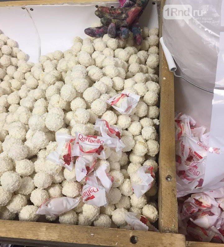 Цех по производству конфет Raffaello накрыли под Ростовом