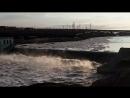 Ледоход на реке Воркута ТЭЦ-2 17.06.2018г
