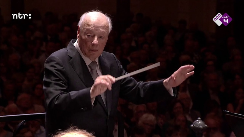 Bernard Haitink dirigeert Bruckner VII - NTR ZaterdagMatinee 15 juni 2019