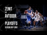 Best Plays From Zenit vs Avtodor