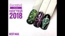 Дизайн ногтей 2018 I Быстрый дизайн ногтей I Неоновые цветы на ногтях