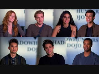 Shadowhunters ○ cast about filming the final two episodes