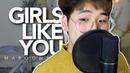 Maroon 5 - Girls Like You (cover by suggi) [KOR SUB]